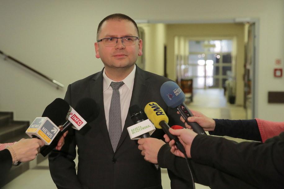 Prezes Sądu Rejonowego w Olsztynie sędzia Maciej Nawacki / Tomasz Waszczuk    /PAP
