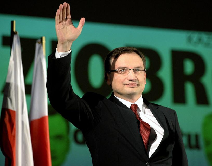 Prezes Solidarnej Polski Zbigniew Ziobro /Darek Delmanowicz /PAP