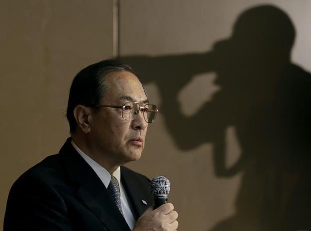 Prezes spólki Toshiba Masashi Muromachi /EPA