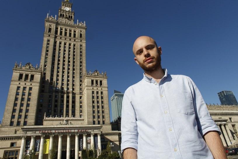 Prezes stowarzyszenia Wolne Miasto Warszawa Jan Śpiewak /Stefan Maszewski /Reporter