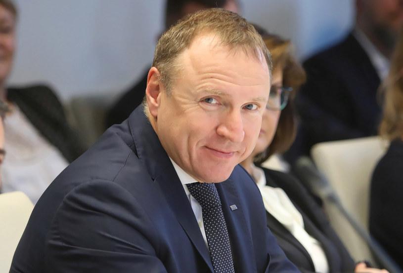 Prezes Telewizji Polskiej Jacek Kurski /Leszek Szymański /PAP