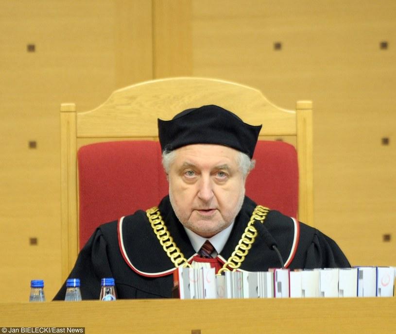 Prezes TK Andrzej Rzepliński /Jan Bielecki /East News