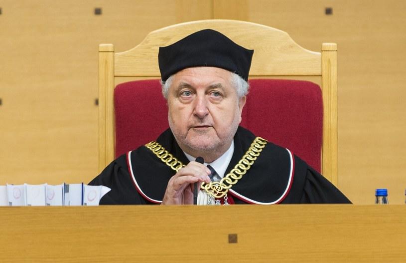 Prezes TK Andrzej Rzepliński /Bartosz Krupa /East News