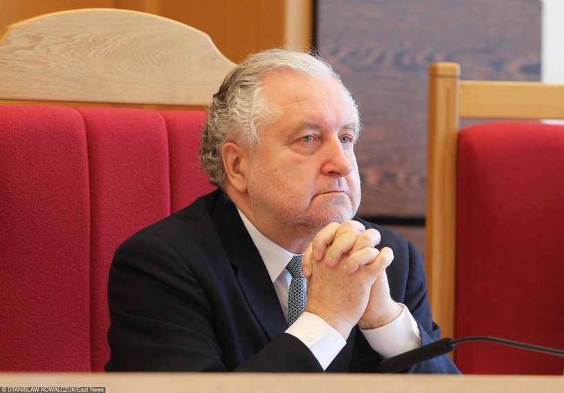 Prezes Trybunału Konstytucyjnego Andrzej Rzepliński /Stanisław Kowalczuk /PAP