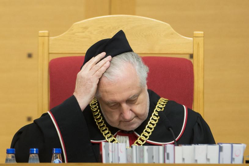 Prezes Trybunału Konstytucyjnego Andrzej Rzepliński /Krystian Maj /Agencja FORUM