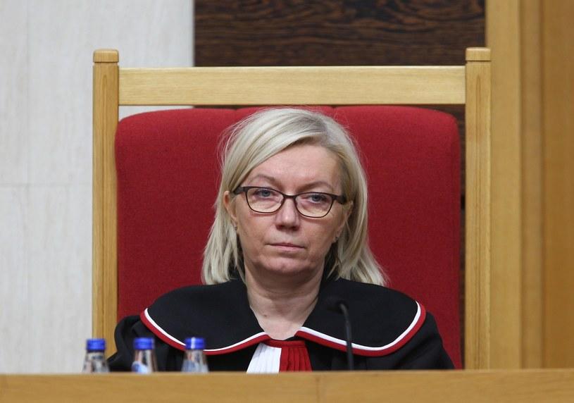 Prezes Trybunału Konstytucyjnego Julia Przyłębska /Stanisław Kowalczuk /East News