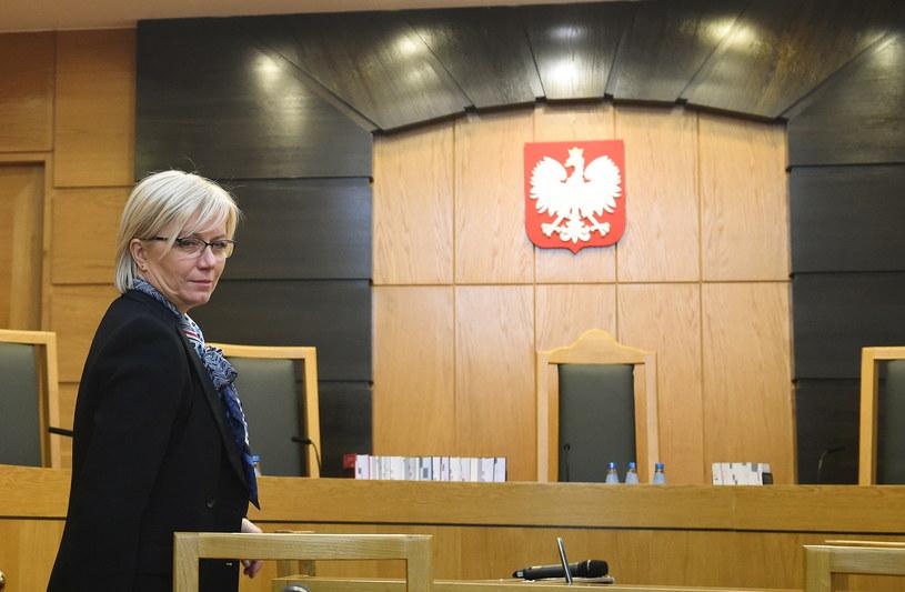 Prezes Trybunału Konstytucyjnego Julia Przyłębska /Radek Pietruszka /PAP