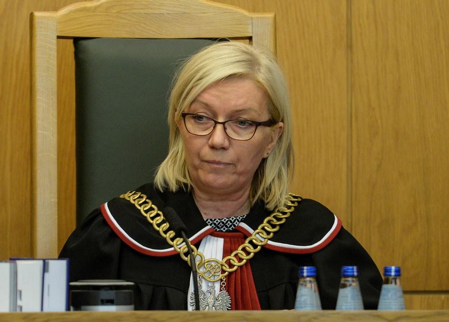 Prezes Trybunału Konstytucyjnego Julia Przyłębska /Marcin Obara /PAP