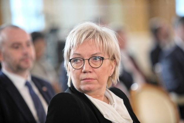 Prezes Trybunału Konstytucyjnego Julia Przyłębska /Wojciech Olkuśnik /PAP