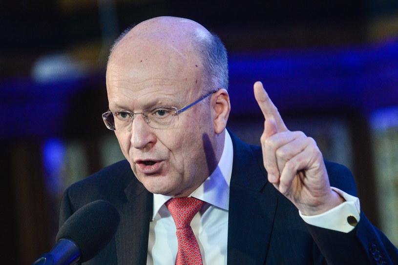Prezes TSUE Koen Lenaerts / Łukasz Dejnarowicz  /FORUM
