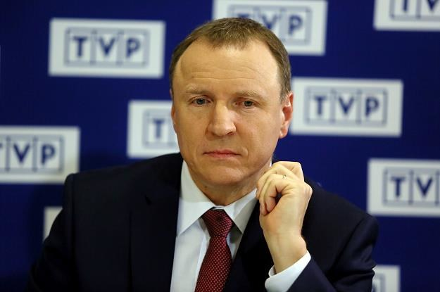 Prezes TVP Jacek Kurski /PAP