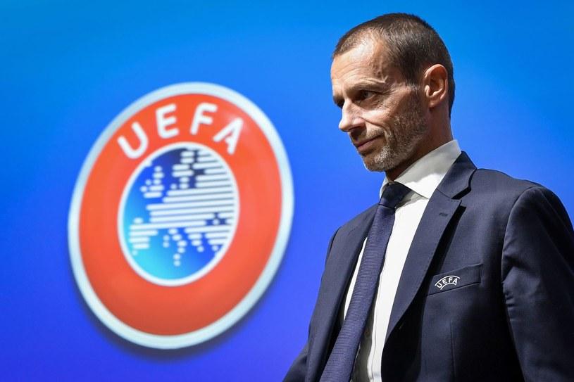 Prezes UEFA Aleksander Czeferin /AFP
