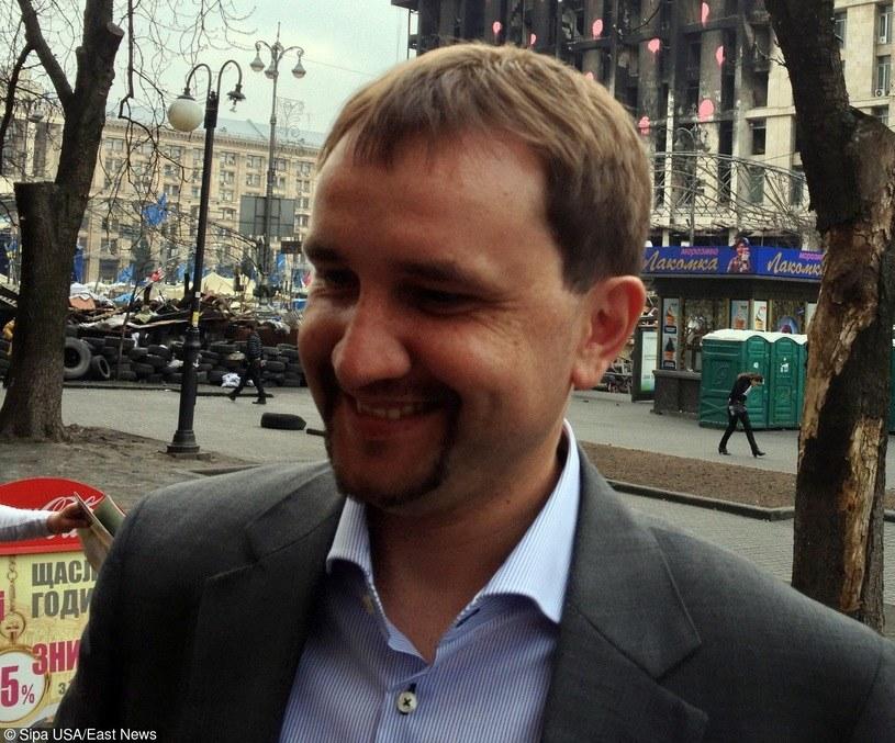 Prezes ukraińskiego IPN Wołodymyr Wiatrowycz /Agencja Sipa /East News