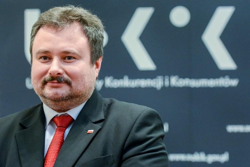 Prezes UOKiK Marek Niechciał /Mariusz Gaczyński /East News