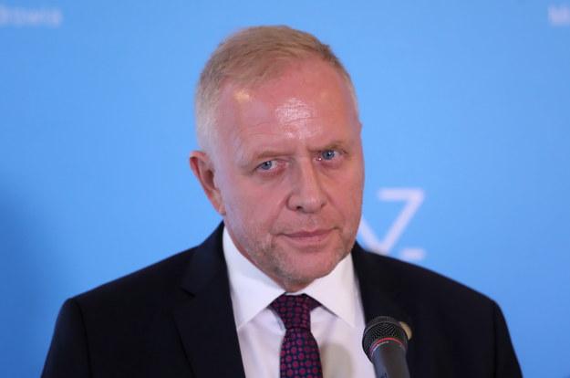 Prezes Warszawskich Lekarzy Rodzinnych dr Michał Sutkowski / Tomasz Gzell    /PAP