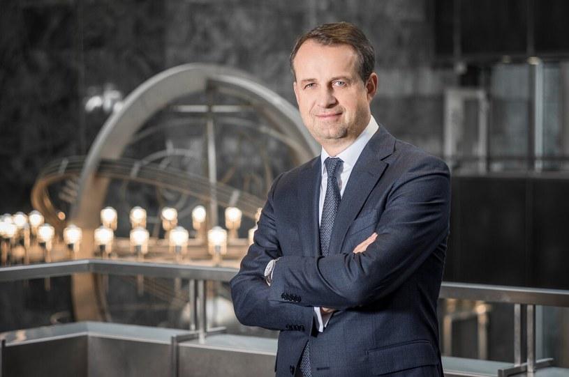 Prezes Warty Jarosław Parkot (fot. Warta) /Informacja prasowa