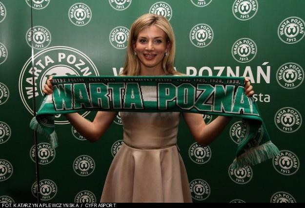 Prezes Warty Poznań Izabella Łukomska-Pyżalska /PAP