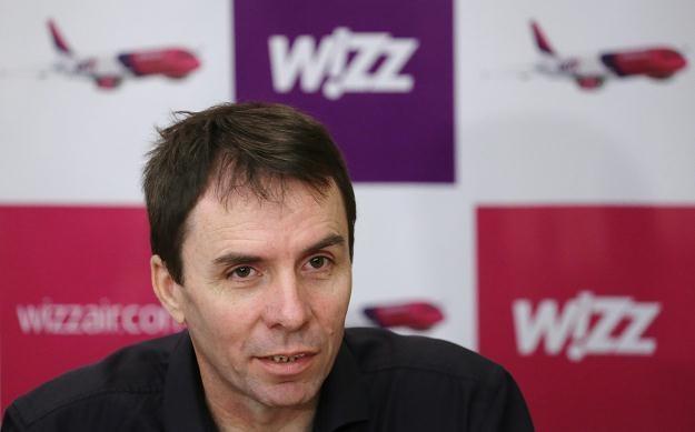 Prezes Wizz Air Jozsef Varadi /PAP