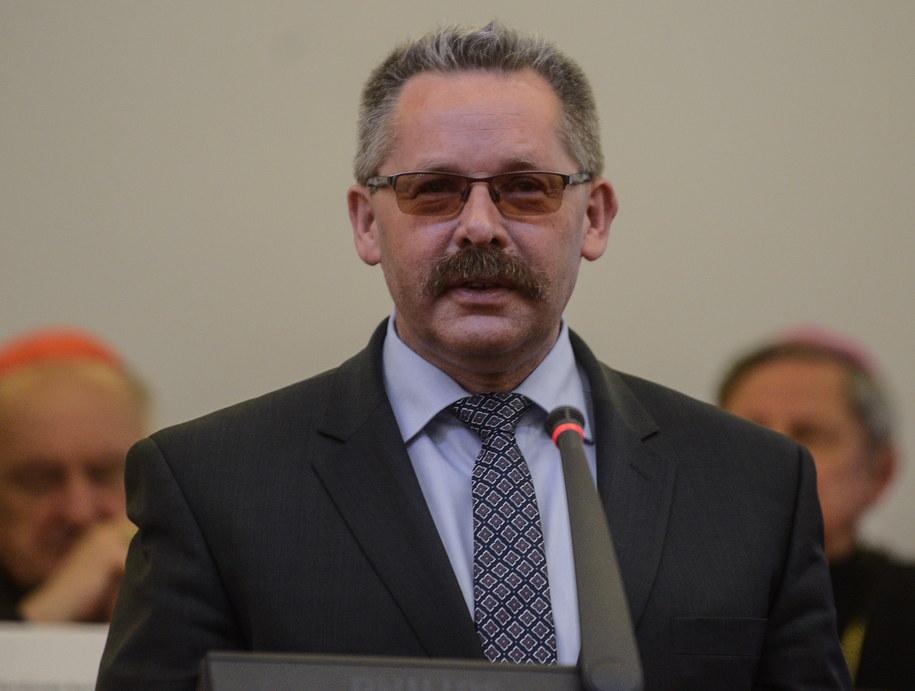 Prezes zarządu PKP S.A. Mirosław Pawłowski /Jakub Kamiński   /PAP
