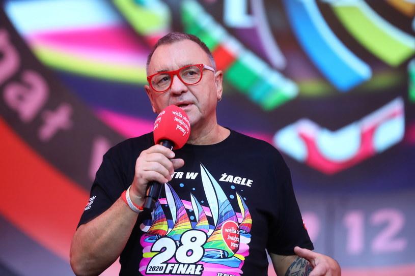 Prezes Zarządu Wielkiej Orkiestry Świątecznej Pomocy Jurek Owsiak /Rafał Guz /PAP