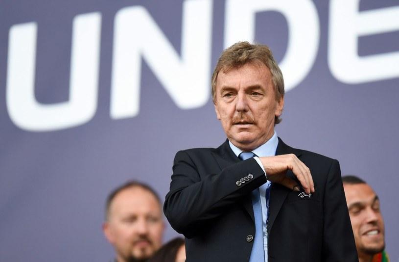 Prezes Zbigniew Boniek /AFP