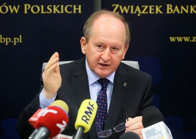 Prezes ZBP Krzysztof Pietraszkiewicz /PAP