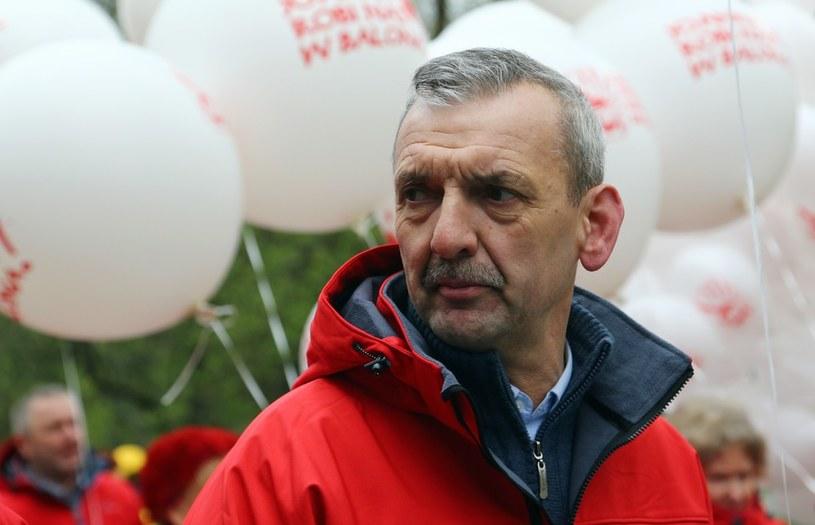 Prezes ZNP Sławomir Broniarz /Mariusz Grzelak /Reporter