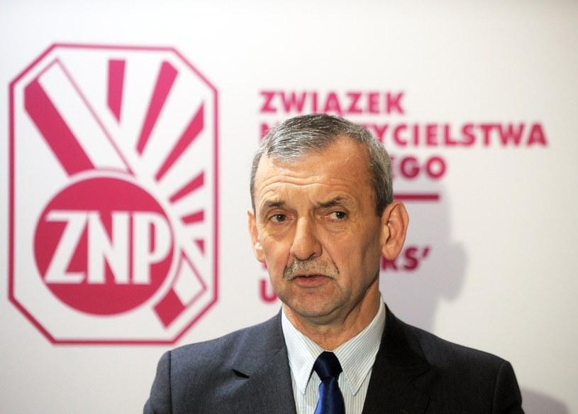 Prezes ZNP Sławomir Broniarz /East News
