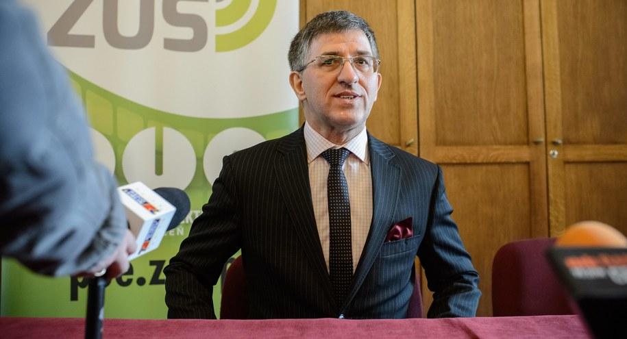 Prezes ZUS Zbigniew Derdziuk /Wojciech Pacewicz /PAP