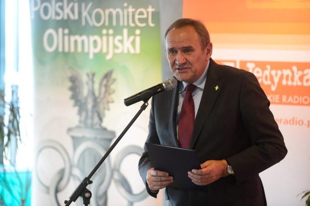 Prezes Związku Piłki Ręcznej w Polsce Andrzej Kraśnicki /Bartłomiej Zborowski /PAP