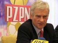 Prezesa PZPN Michała Listkiewicza oprócz wyniku ucieszyła także gra biało-czerwonych /INTERIA.PL