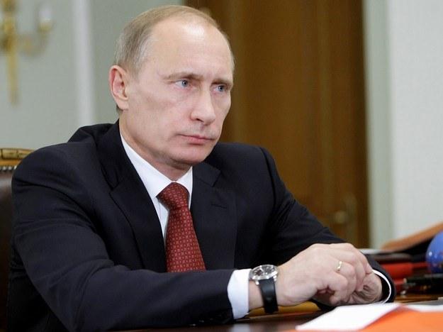Prezyden Rosji Władymir Putin. /AFP