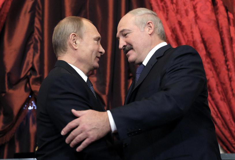 Prezydenci: Aleksander Łukaszenko i Władimir Putin /AFP