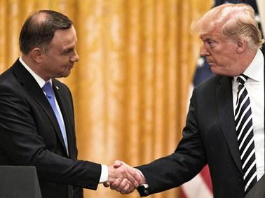 Prezydenci Duda i Trump podpisali deklarację o partnerstwie strategicznym