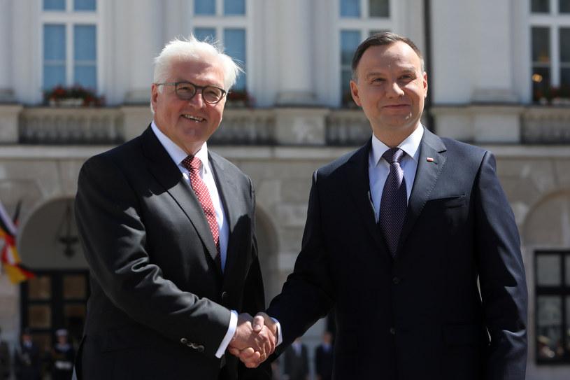 Prezydenci Niemiec i Polski mają dobre osobiste relacje - czytamy /Stanisław Kowalczuk /East News