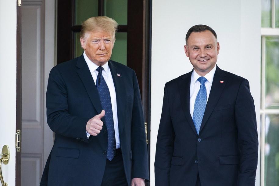 Prezydenci przed Białym Domem /Leszek Szymański /PAP