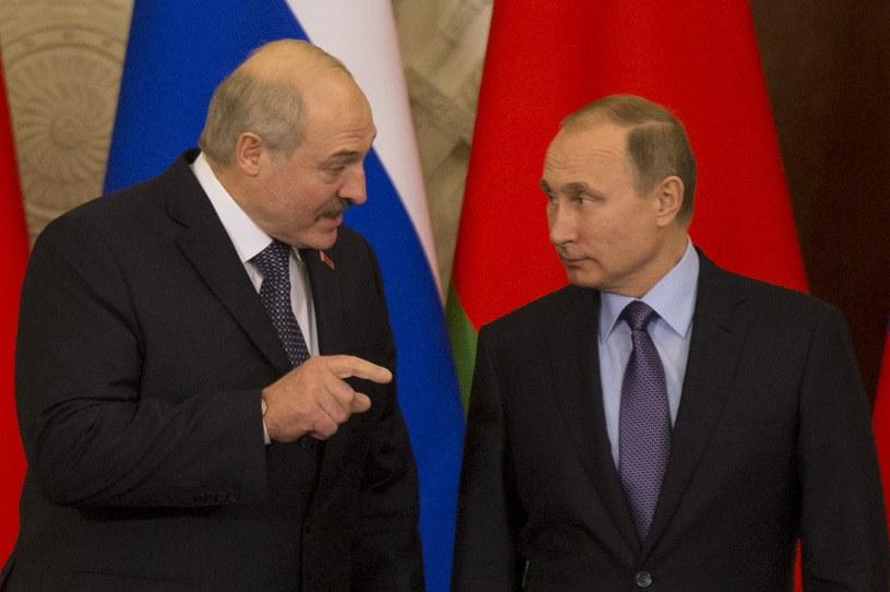 Prezydenci Władimir Putin i Aleksander Łukaszenko, zdj. ilustracyjne /AFP