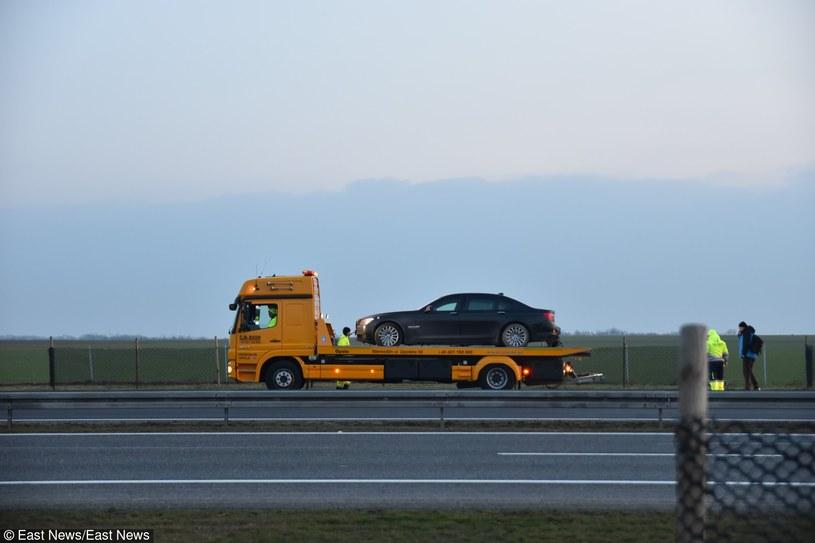 Prezydencka limuzyna na lawecie /BRZEG24.PL /East News