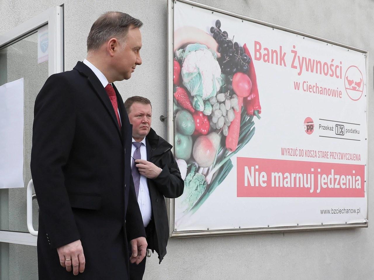 Prezydencki falstart: Andrzej Duda ogłosił pomoc, której nie ma