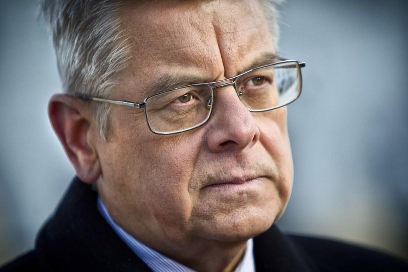 Prezydencki minister Tomasz Nałęcz. /Andrzej Stawiński /Reporter