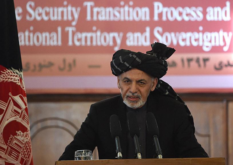 Prezydent Afganistanu Aszraf Ghani /AFP