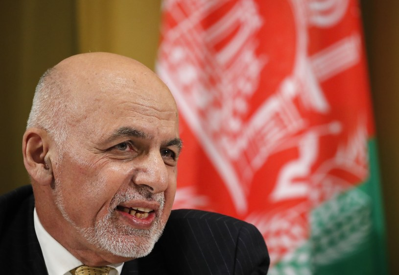 Prezydent Afganistanu Aszraf Ghani /Denis Balibouse/Xinhua News /East News