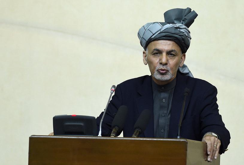 Prezydent Afganistanu /AFP /AFP