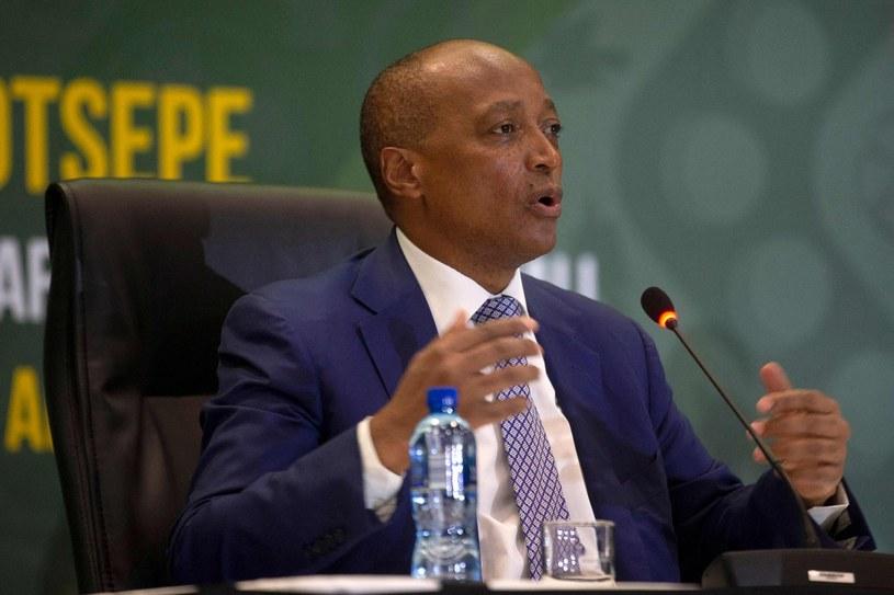 Prezydent Afrykańskiej Konfederacji Piłkarskiej Patrice Motsepe /AFP