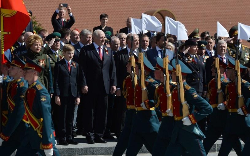 Prezydent Alaksandr Łukaszenka /PAP/EPA