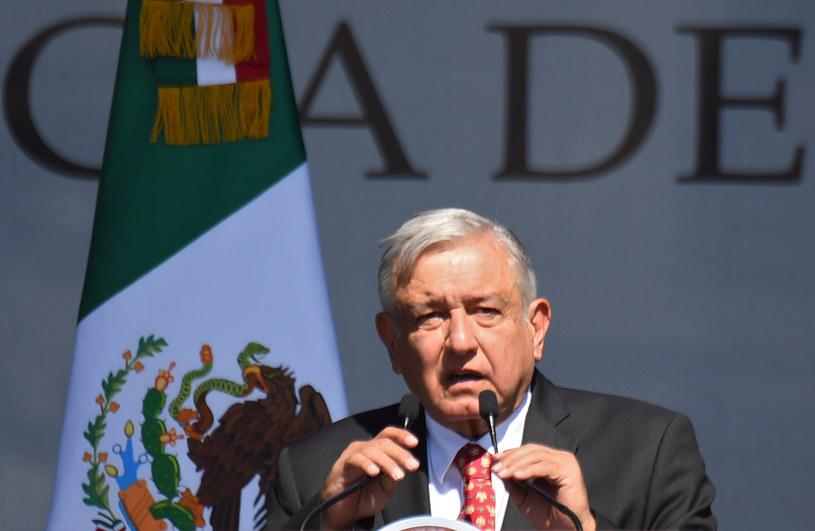 Prezydent Andres Manuel Lopez Obrador /Pedro PARDO /AFP