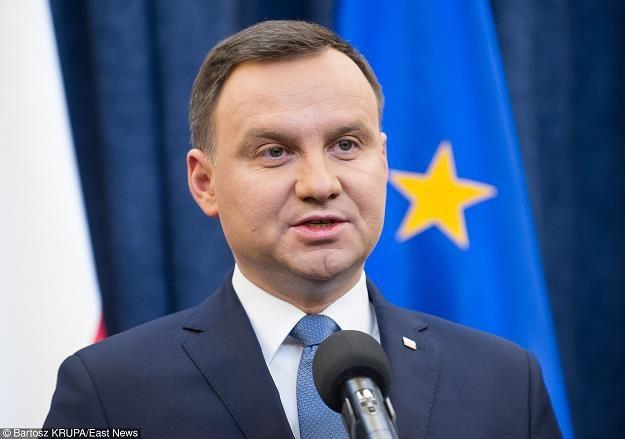 Prezydent Andrzej Duda. Fot. Bartosz Krupa /East News