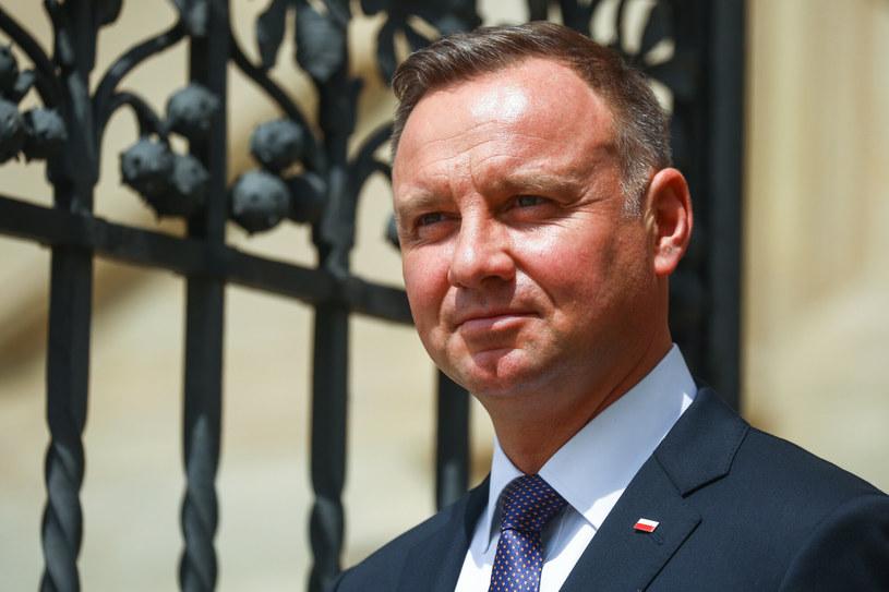 Prezydent Andrzej Duda liderem rankingu zaufania CBOS /Beata Zawrzel/REPORTER /Reporter