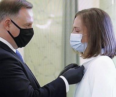 Prezydent Andrzej Duda ma koronawirusa. Iga Świątek ma trafić na kwarantannę