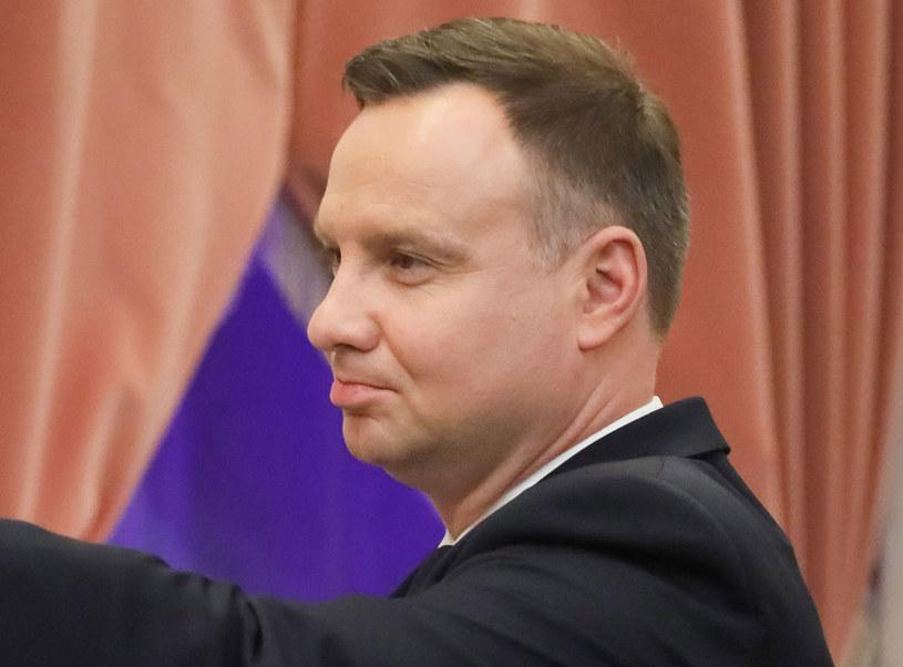Prezydent Andrzej Duda może liczyć na poparcie wyborców PiS /Paweł Supernak /PAP